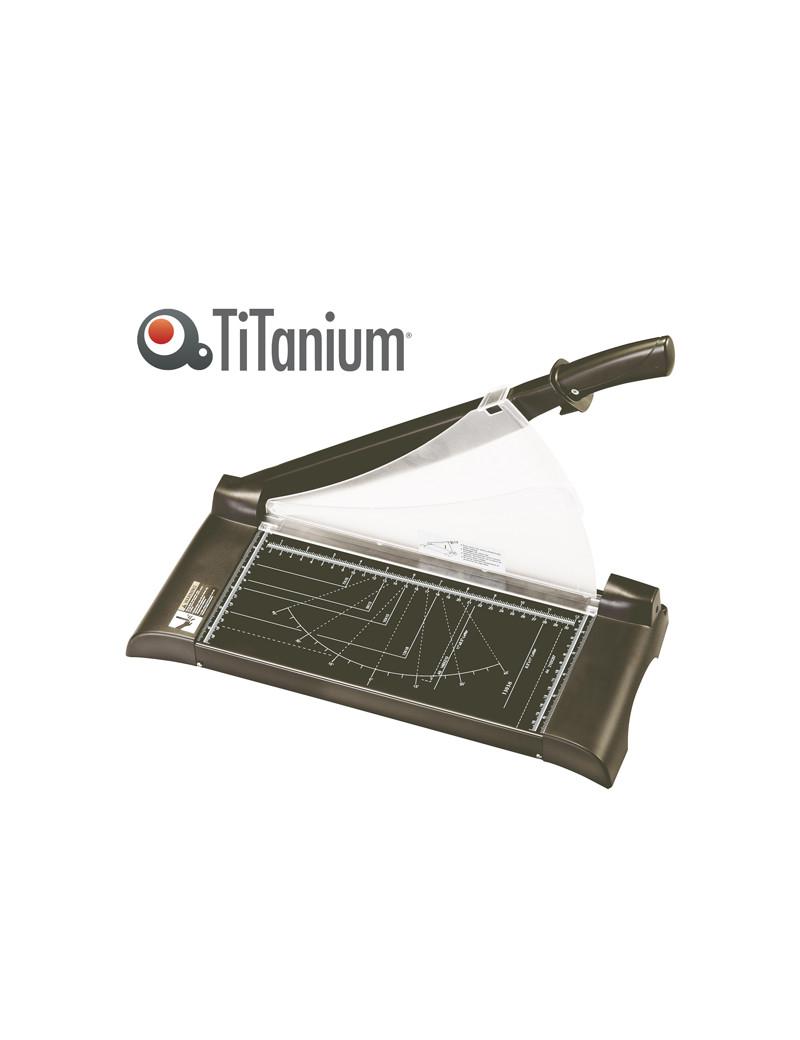 Taglierina a Leva 3038 Titanium - A4 - 315 mm - 13038 (Nero)
