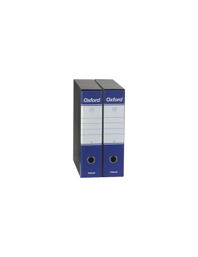 Registratore Oxford Esselte - Commerciale - Dorso 8 - 23x30 cm - 390783050 (Blu Conf. 6)