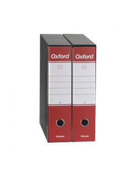 Registratore Oxford Esselte - Commerciale - Dorso 8 - 23x30 cm - 390783160 (Rosso Conf. 6)