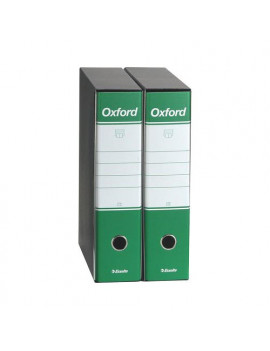 Registratore Oxford Esselte - Commerciale - Dorso 8 - 23x30 cm - 390783180 (Verde Conf. 6)