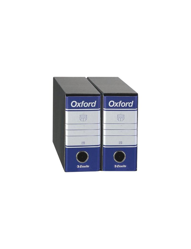 Registratore Oxford Esselte - Memorandum - Dorso 8 - 23x18 cm - 390781050 (Blu Conf. 12)