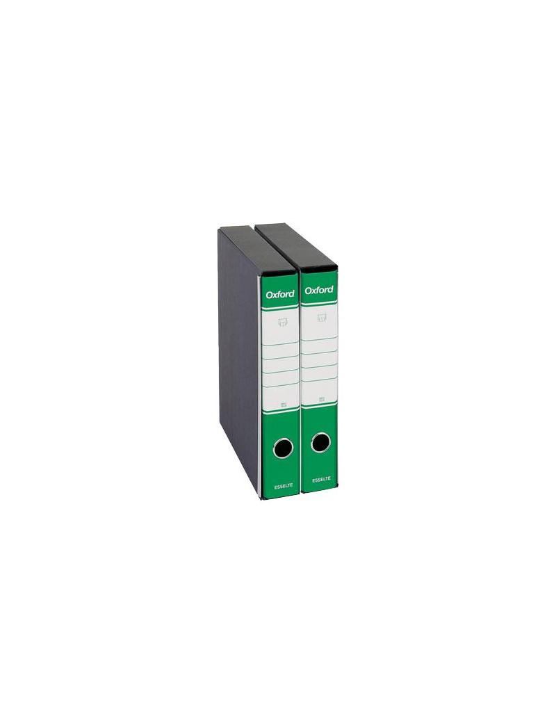 Registratore Oxford Esselte - Protocollo - Dorso 5 - 23x33 cm - 390784180 (Verde Conf. 8)