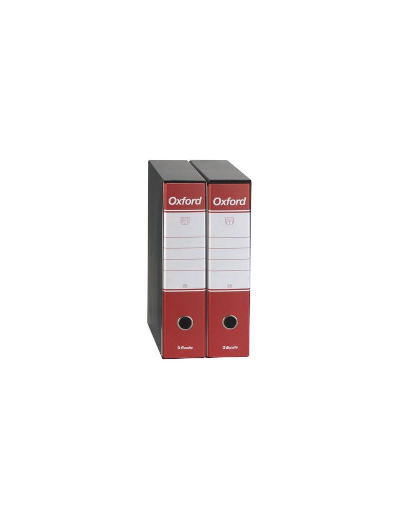 Registratore Oxford G85 Esselte - Protocollo - Dorso 8 - 23x33 cm - 390785160 (Rosso Conf. 6)