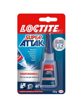 Colla Super Attak Professional Loctite - 20 g - 2048075