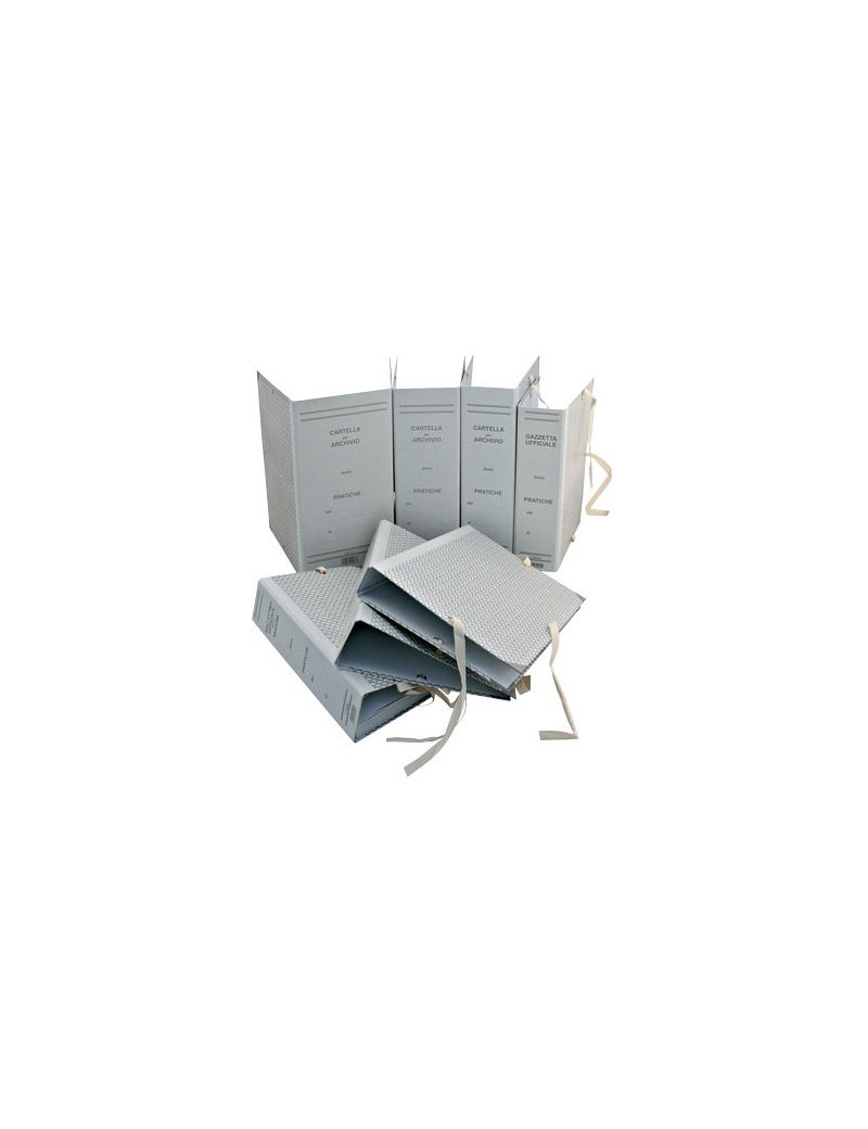 Faldoni Rivestiti in Carta Euro-Cart - Dorso 10 - 25x35 cm - CA10 (Beige Conf. 25)