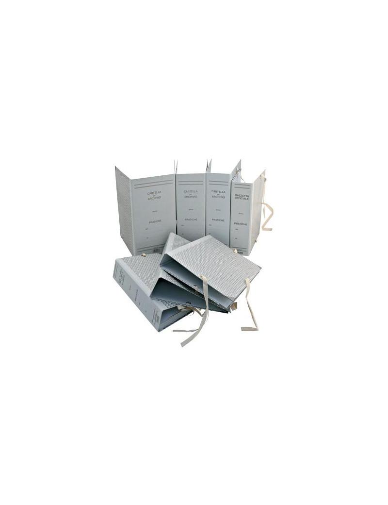 Faldoni Rivestiti in Carta Euro-Cart - Dorso 12 - 25x35 cm - CA12 (Beige Conf. 25)