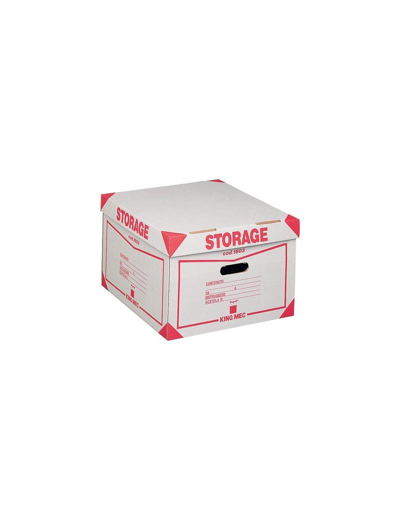 Contenitore Storage King Mec - 41x27x43 cm - 00160300 (Bianco Conf. 12)