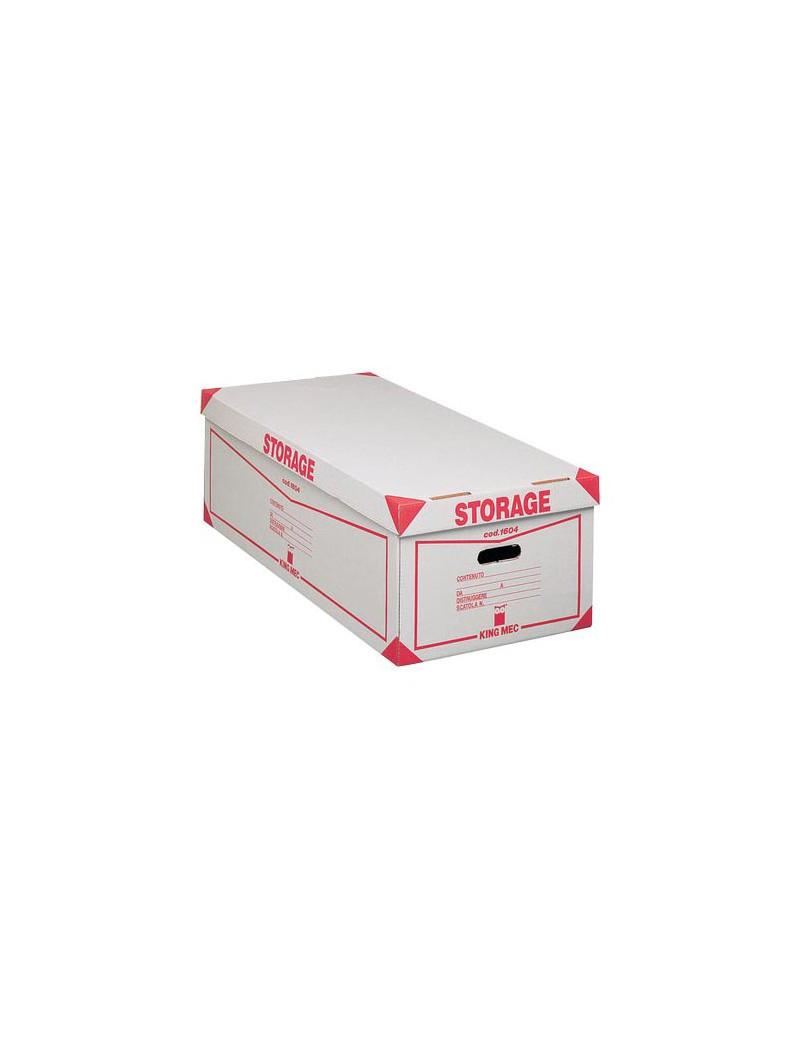 Contenitore Storage King Mec - 41x27x78 cm - 00160400 (Bianco Conf. 8)