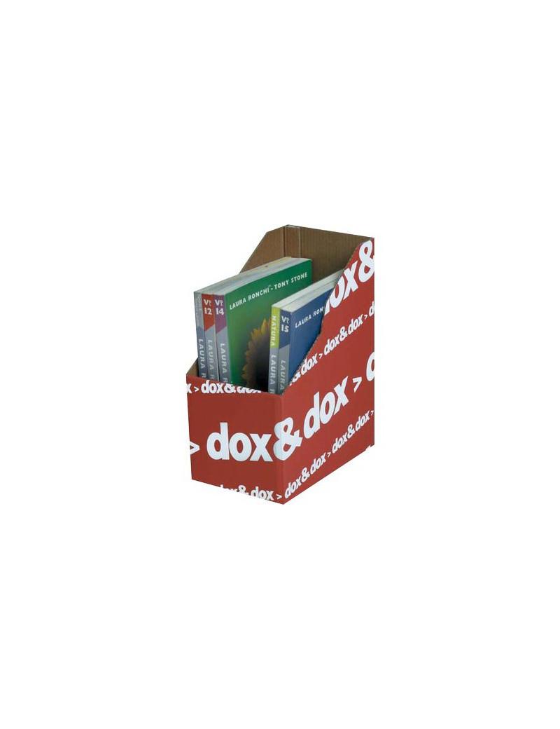 Portariviste Dox&Dox Rexel - Dorso 17,5 cm - 1600176 (Rosso Conf. 12)