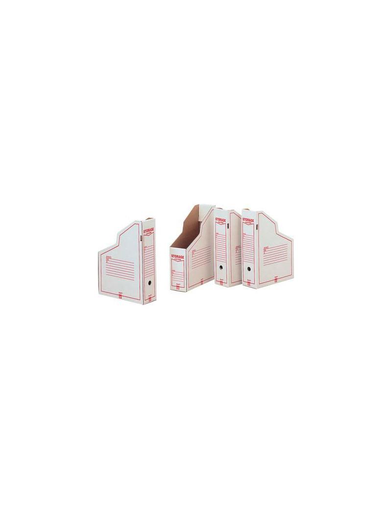 Portariviste Storage King Mec - 25x36x9 cm - 00160600 (Bianco Conf. 32)