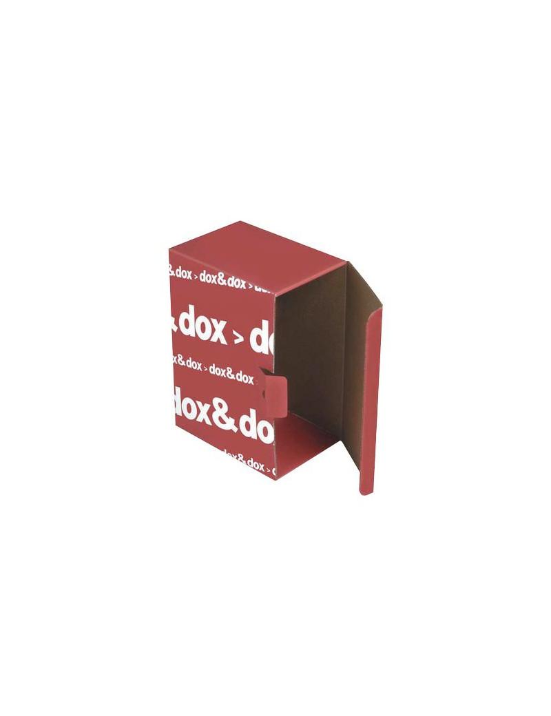 Scatola Archivio Dox&Dox Rexel - 17x35x25 cm - 1600174 (Rosso Conf. 12)