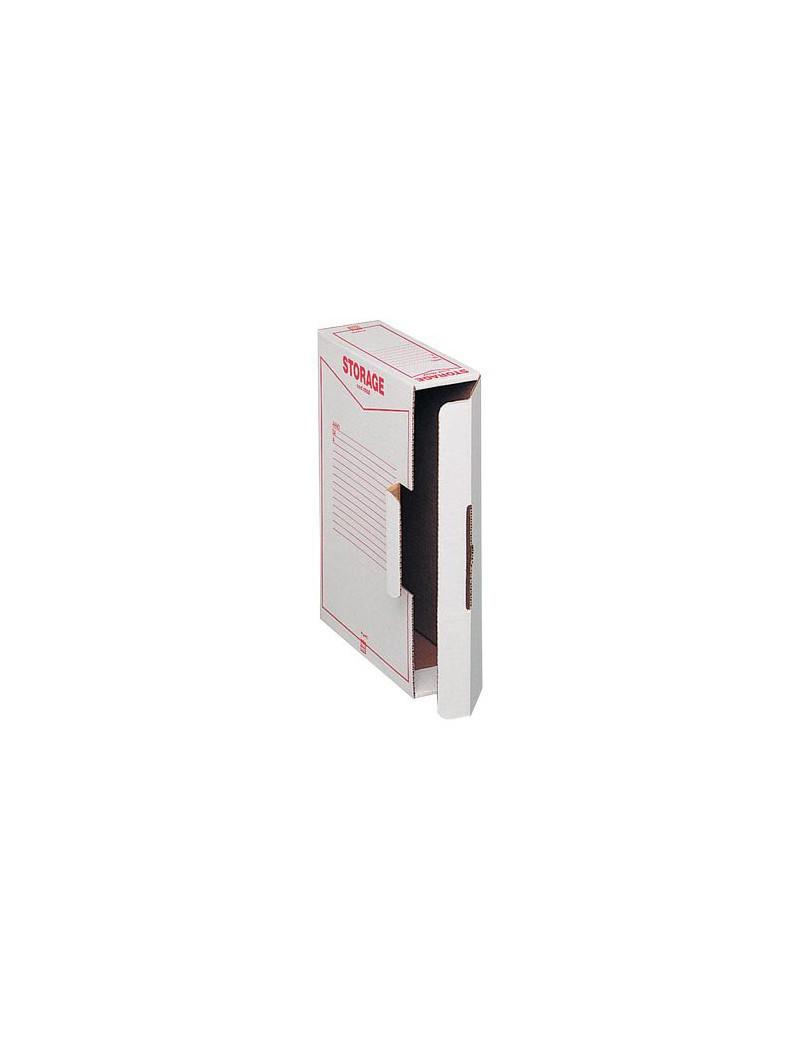 Scatola Archivio Storage King Mec - Dorso 9 - 37x26 cm - 00160200 (Bianco Conf. 32)