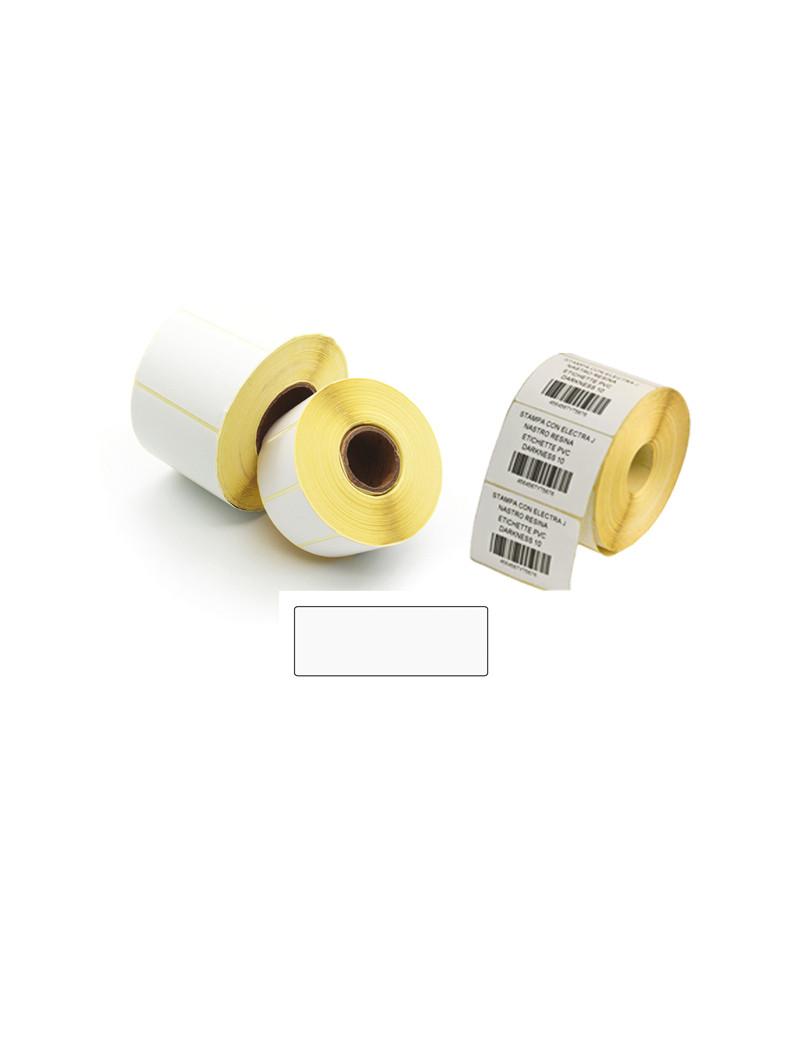 Etichette a Trasferimento Termico Printex - Permanenti - 50x30 mm - 2 Piste - ETT5030 (Bianco Conf. 5000)