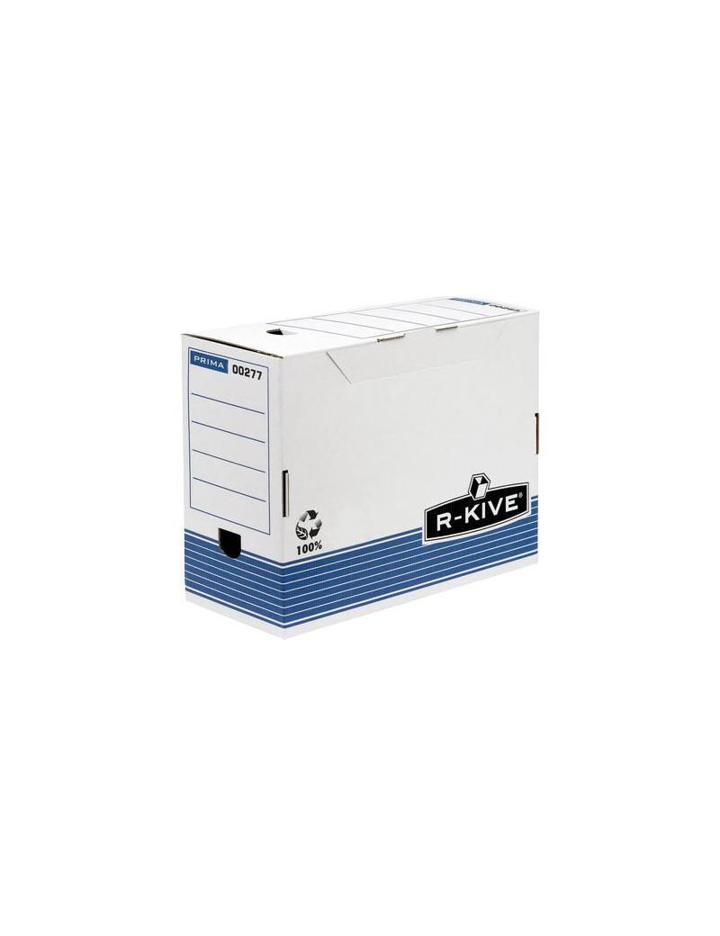 Sistema di Archiviazione R-Kive Prima Fellowes - 15,8x32,7x26,5 cm (Bianco e Blu Conf. 10)
