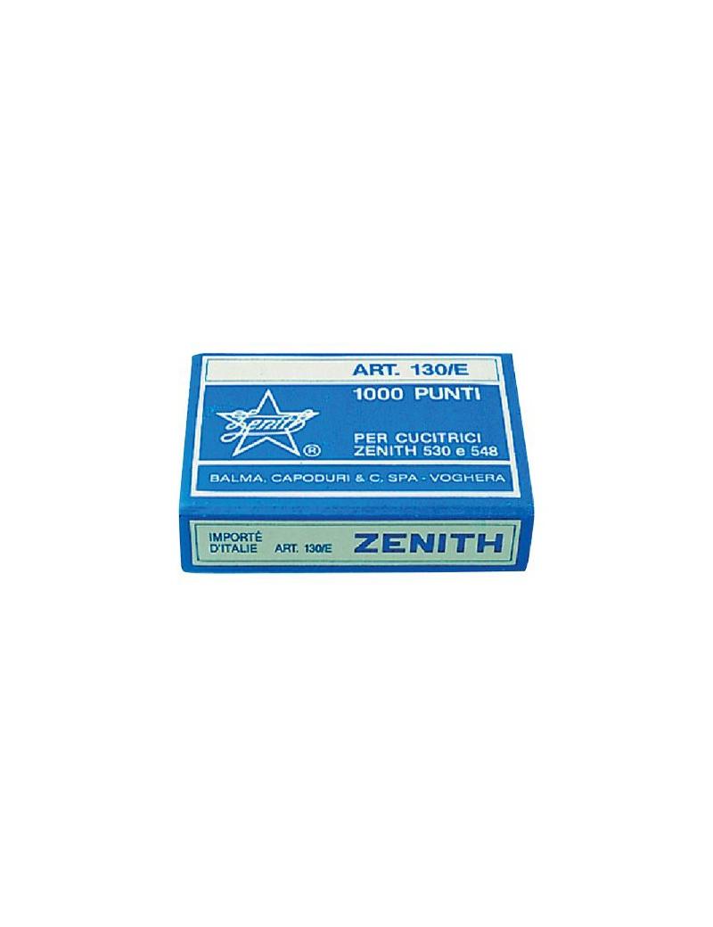 Punti Metallici per Cucitrice Zenith - 130/E S100 6/4 - 0311301431 (Conf. 100000)