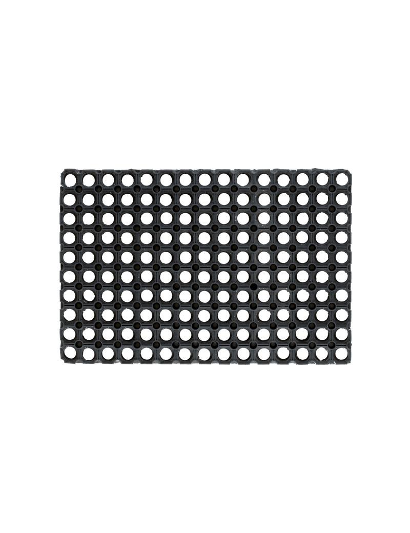 Zerbino in Gomma Gummy Velcoc - 40x80 cm - ZGGUMM4080 (Nero)