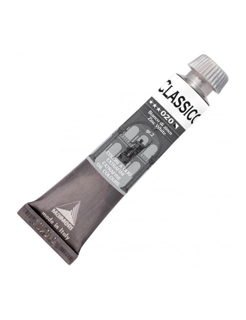 Colore a Olio Extrafine Maimeri - 20 ml - M0302020 (Bianco di Zinco Conf. 3)