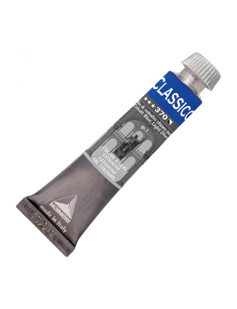Colore a Olio Extrafine Maimeri - 20 ml - M0302370 (Blu Cobalto Chiaro Conf. 3)