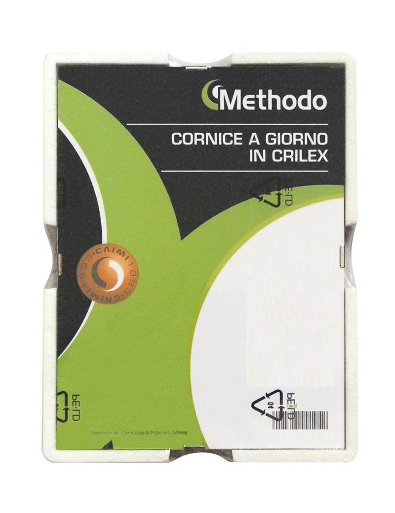Cornice a Giorno in Crilex Methodo - 50x70 cm - K900117 (Trasparente)