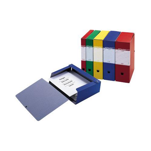 colore 1 pezzo Sei Rota 67900807S Cartelle Portaprogetti Scatto Blu