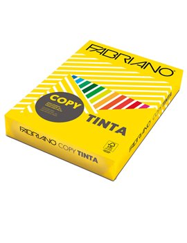Carta Colorata Copy Tinta Fabriano - A3 - 80 g - 60629742 (Giallo Forte Conf. 250)