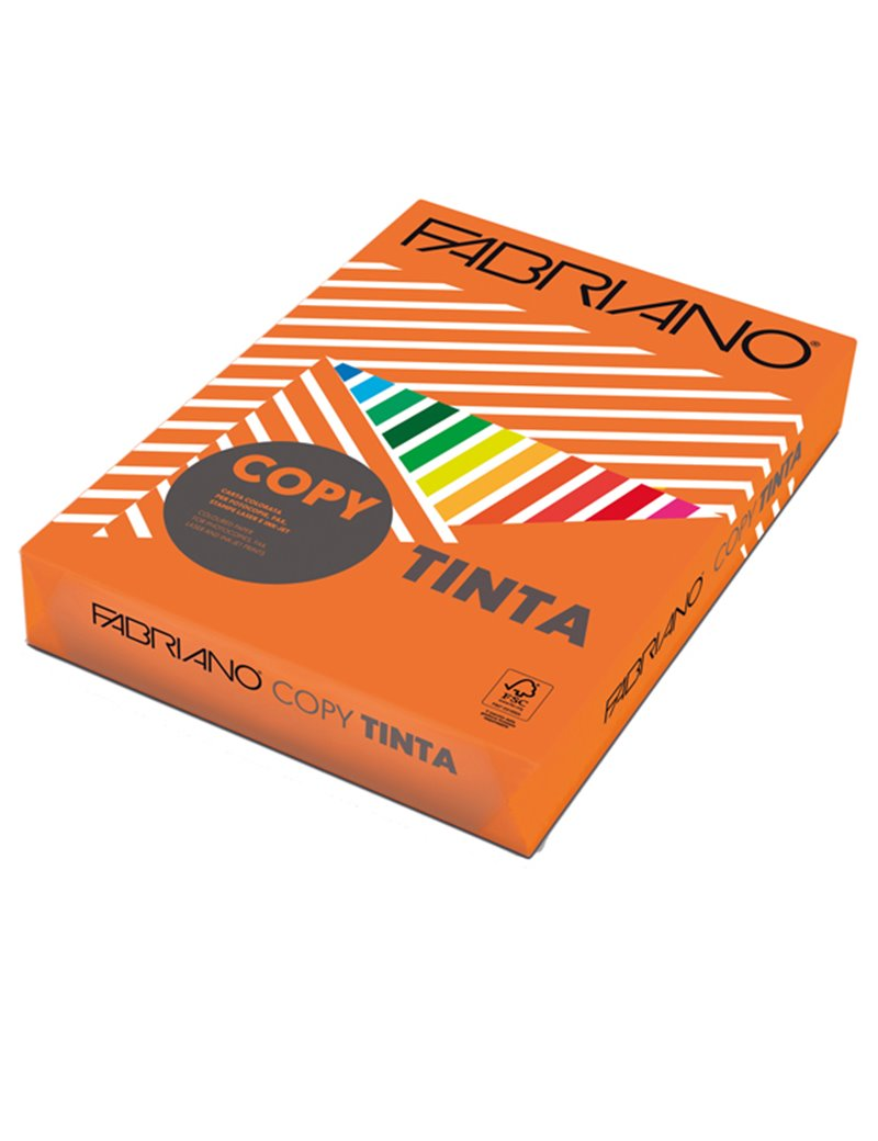 Carta Colorata Copy Tinta Fabriano - A4 - 80 g - 60421297 (Aragosta Forte Conf. 500)