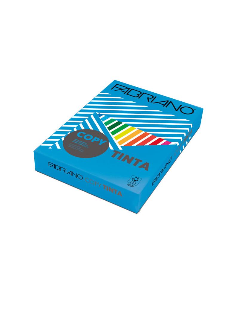 Carta Colorata Copy Tinta Fabriano - A4 - 80 g - 60321297 (Azzurro Forte Conf. 500)