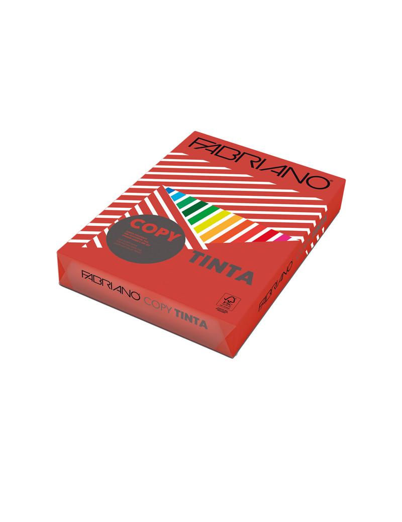Carta Colorata Copy Tinta Fabriano - A4 - 80 g - 60521297 (Rosso Forte Conf. 500)