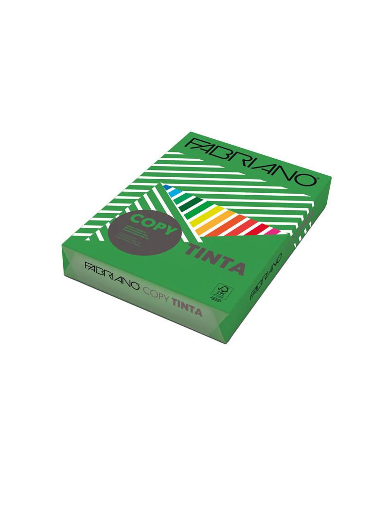 Carta Colorata Copy Tinta Fabriano - A4 - 80 g - 60121297 (Verde Forte Conf. 500)