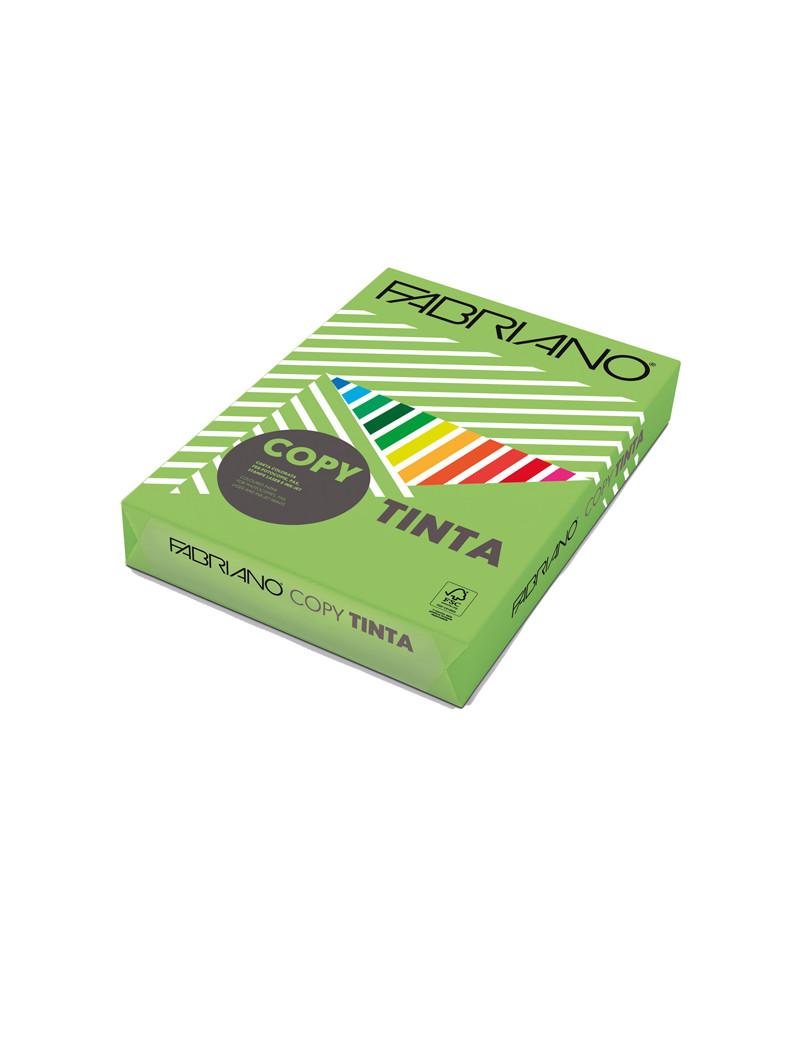 Carta Colorata Copy Tinta Fabriano - A4 - 80 g - 60221297 (Verde Pisello Forte Conf. 500)