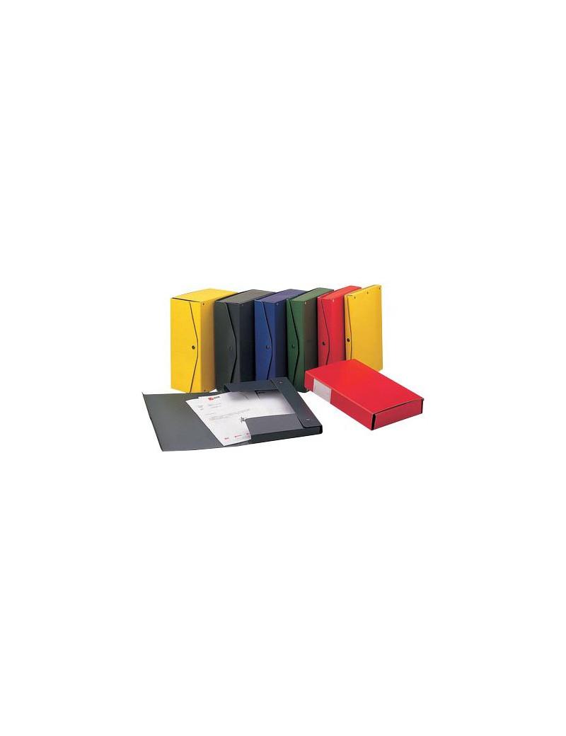 Scatola Archivio Project 4 King Mec - Dorso 4 - 26x36 cm - 00023304 (Blu Conf. 5)