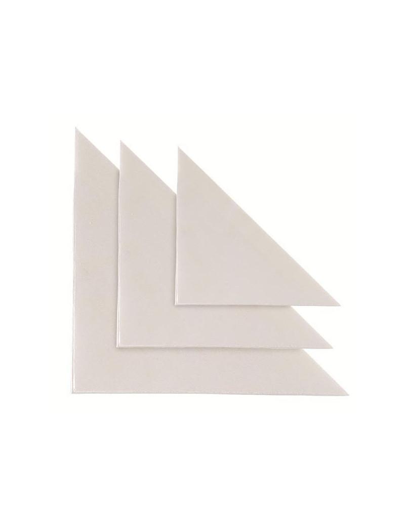 Busta Adesiva Triangolare Sei Rota - 100x100 mm - 318123 (Trasparente Conf. 10)