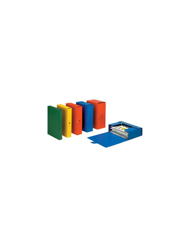 Scatola Portaprogetti Eurobox C32 Esselte - Dorso 12 - 25x35 cm - 390332090 (Giallo Conf. 5)