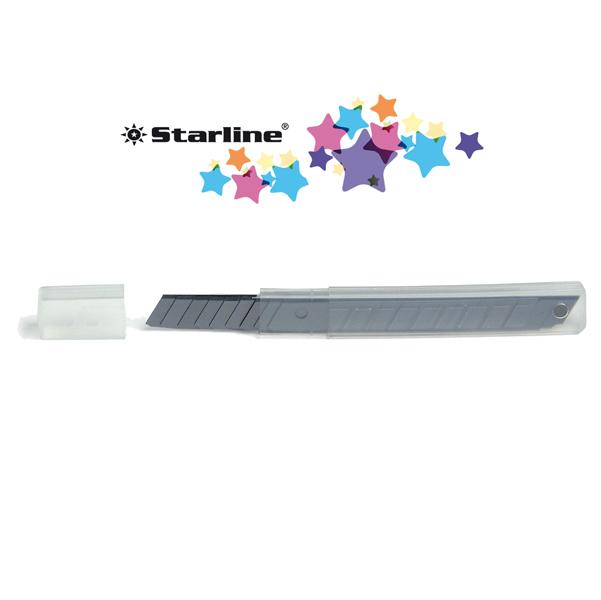 Lame-di-Ricambio-per-Cutter-Starline-18-mm-STLSX-18T-Conf-10