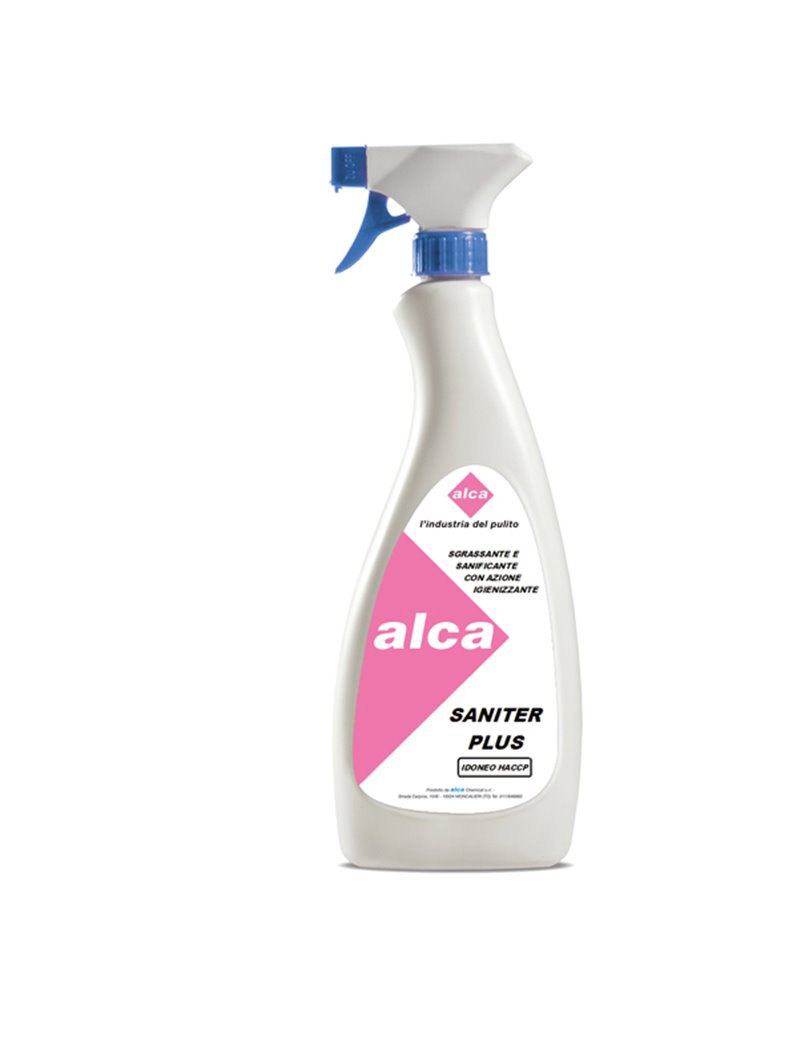 Sgrassante Sanitizzante Saniter Plus Alca - 750 ml - ALC437