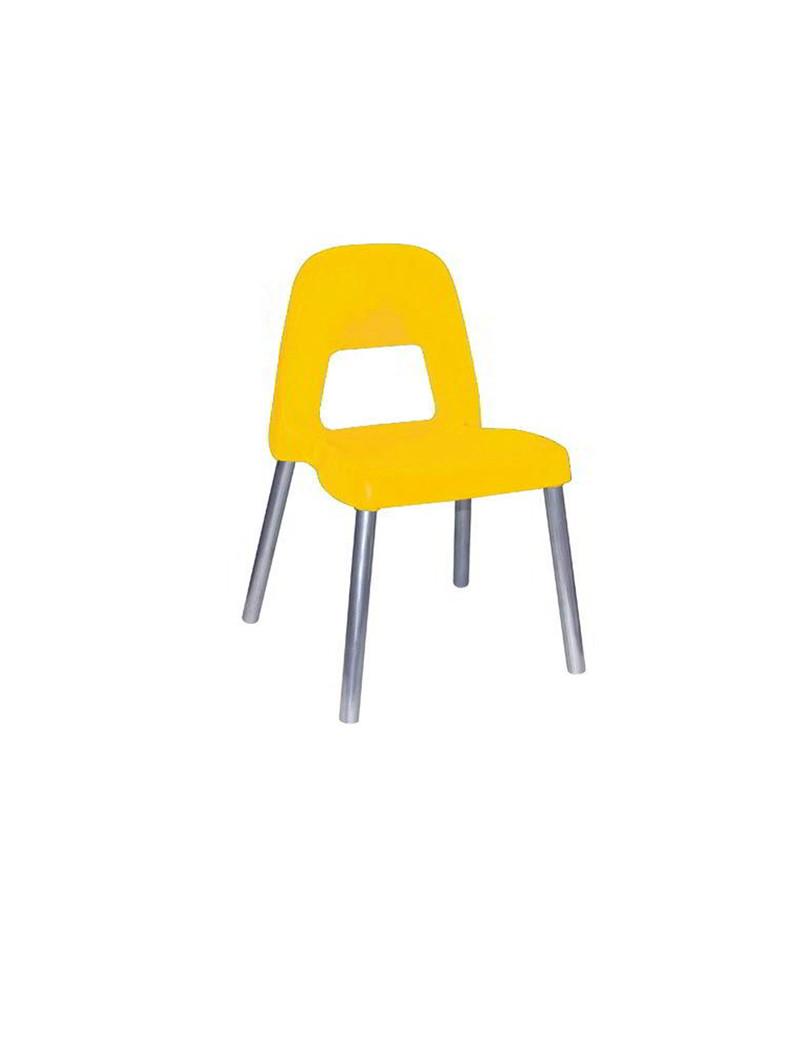 Sedia per Bambini Piuma CWR - 09386/02 (Giallo)