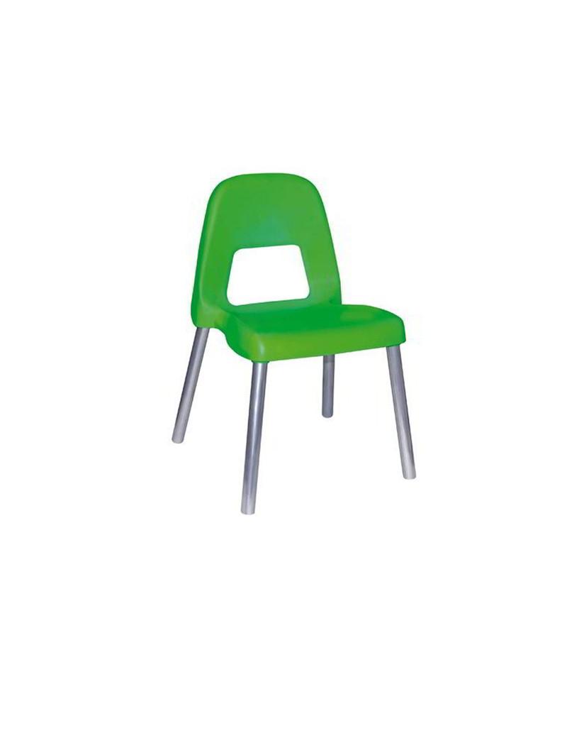 Sedia per Bambini Piuma CWR - 31 cm - 09386/03 (Verde)