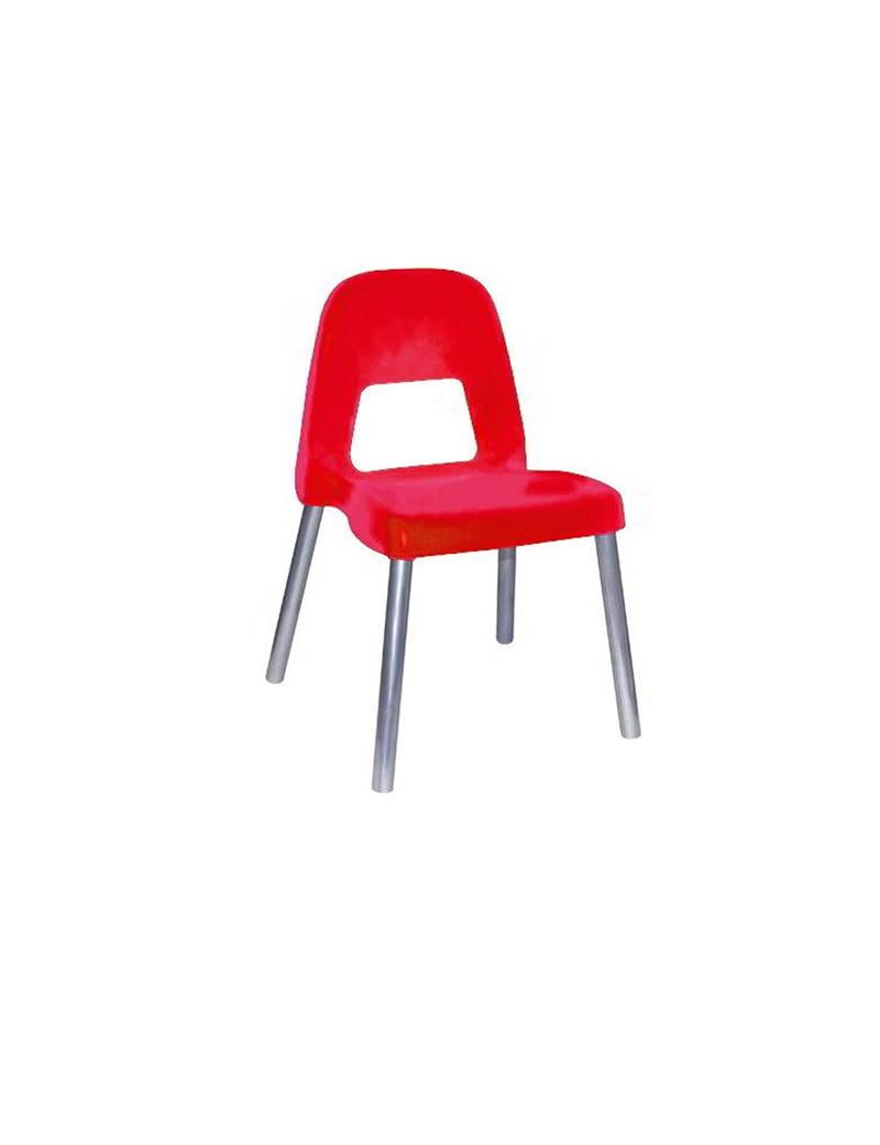 Sedia per Bambini Piuma CWR - 35 cm - 09387/01 (Rosso)