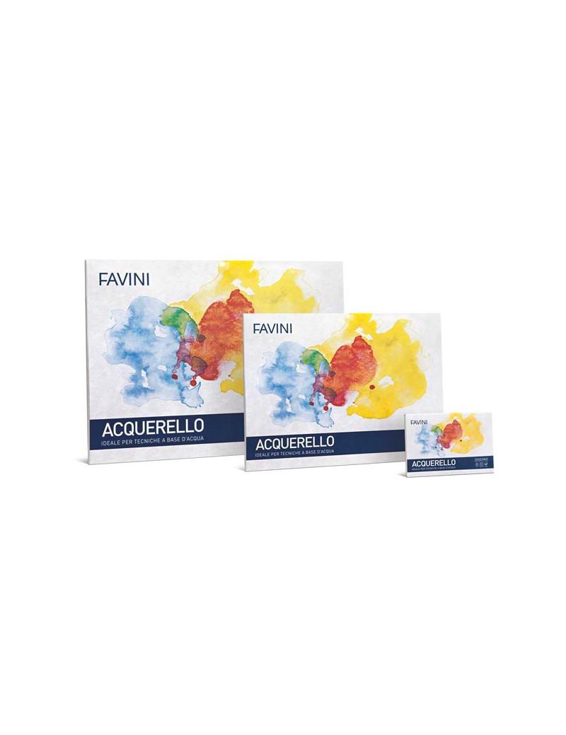 Blocco Acquerello Favini - 35x50 cm - 340 g - 10 Fogli - A223413 (Conf. 4)
