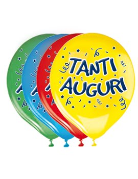 Palloncino in Lattice Big Party - 30 cm - 72221 (Assortiti Tanti Auguri Conf. 20)