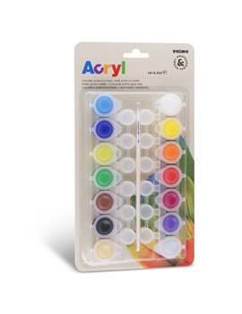 Colore Acrilico Acryl Primo Morocolor - 4,5 ml - 161TA14BL (Assortiti Conf. 14)