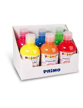Tempera Fluo Primo Morocolor - 300 ml - 255TF6ASS (Assortiti Conf. 6)