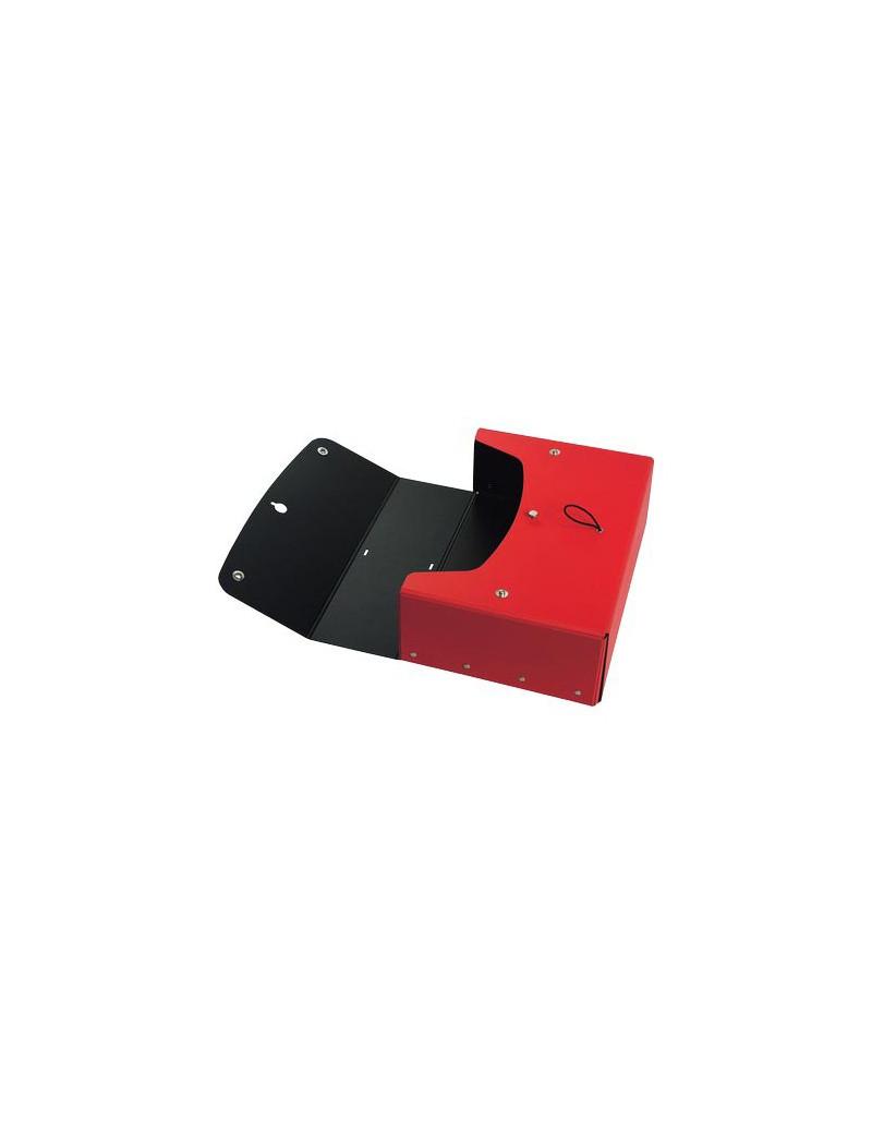 Scatola Progetto con Maniglia Pick Up Fellowes - Dorso 12 - 25x35 cm - 40271 (Rosso)