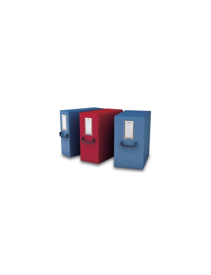 Scatola Progetto con Maniglia Pick Up Fellowes - Dorso 20 - 25x35 cm (Rosso)