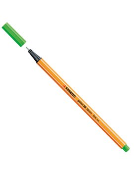 Fineliner Point 88 Stabilo - 0,4 mm - 88/033 (Verde Neon Conf. 10)