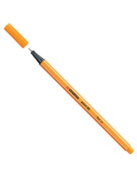 Fineliner Point 88 Stabilo - 0,4 mm - 88/54 (Arancio Conf. 10)