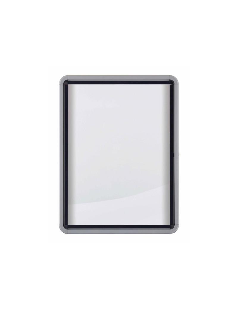 Bacheca Magnetica per Esterni Nobo - 9xA4 - 100x75,2 cm - 1902580 (Alluminio)