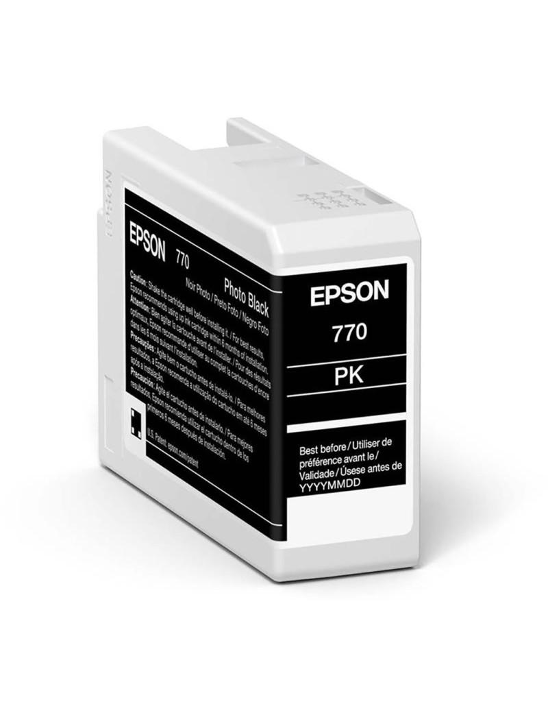 Cartuccia Originale Epson T46S100 (Nero Foto 25 ml)