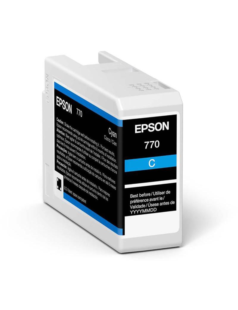 Cartuccia Originale Epson T46S200 (Ciano 25 ml)