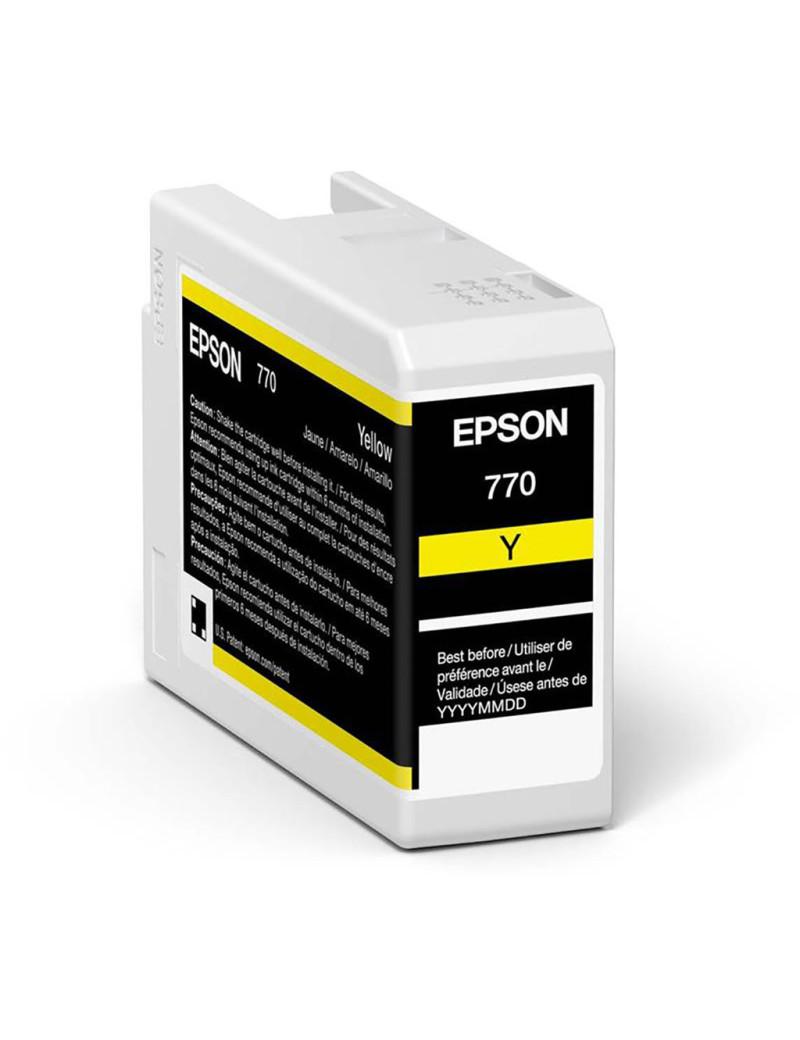 Cartuccia Originale Epson T46S400 (Giallo 25 ml)